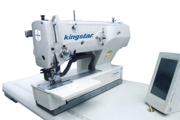 Fixed cycle KS-1790 Lockstitch buttonholing machine
